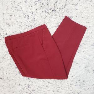 Pants - Lifestyle Attitude Burgundy Trousers